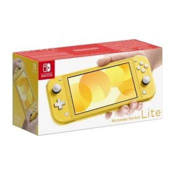 Switch-Konsole Lite Gelb