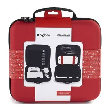 Switch BigBen Storage Case Red